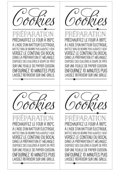 bocal cuisine cadeaux d assiette la préparation pour cookies prima