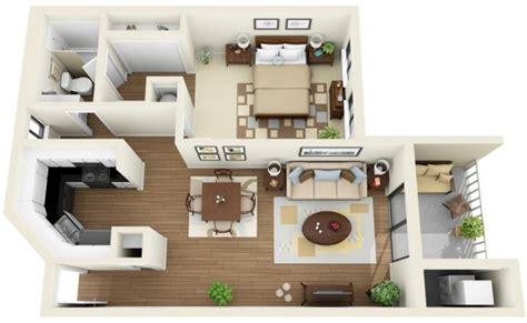 dessin d une chambre 50 plans en 3d d appartement avec 1 chambres plus d