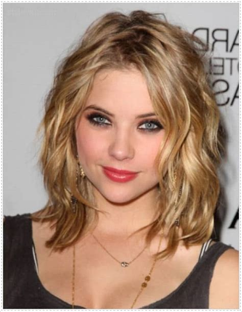 17 captivating hairstyles for round faces sheideas