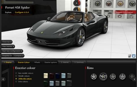 Build Your Own Ferrari 458 Spider