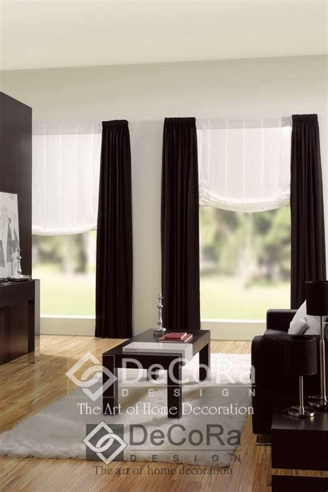 rideaux design noir et blanc maison design bahbe