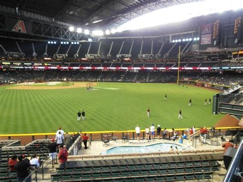 View From Center Field To Home Plate  Picture Of Chase
