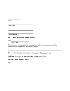 renewing apartment lease sample letter latest
