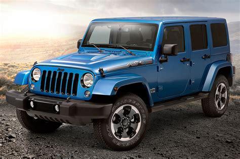 arctic jeep 2014 jeep wrangler polar edition hits north america