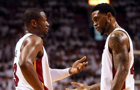 Report Heat Veterans Udonis Haslem And Dwyane Wade Could