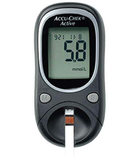 Accu Check Alat Monitor Gula Darah alat cek gula darah accu check active tokoalkes