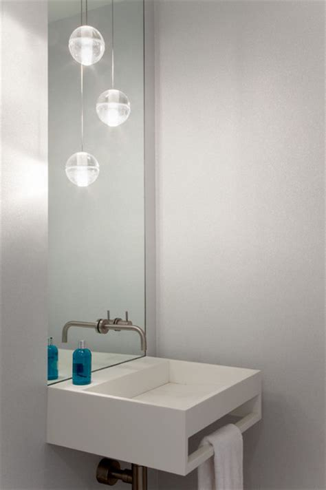 mpd residence modern powder room new york by gne