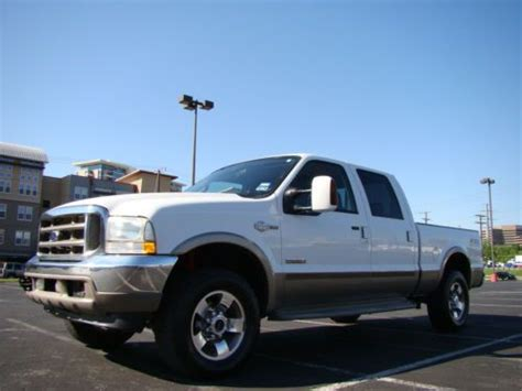 Purchase used 2004 Ford F250 King Ranch 4x4 Diesel Crew