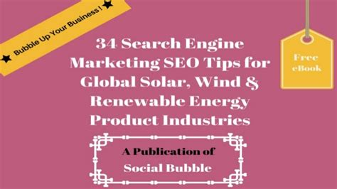 Search Engine Marketing Techniques by 34 Search Engine Marketing Seo Tips For Global Solar Wind