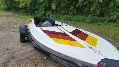 Buy Used Flat Bottom Boat by 1981 Sanger Flat Bottom Drag Boat For Sale In Grove