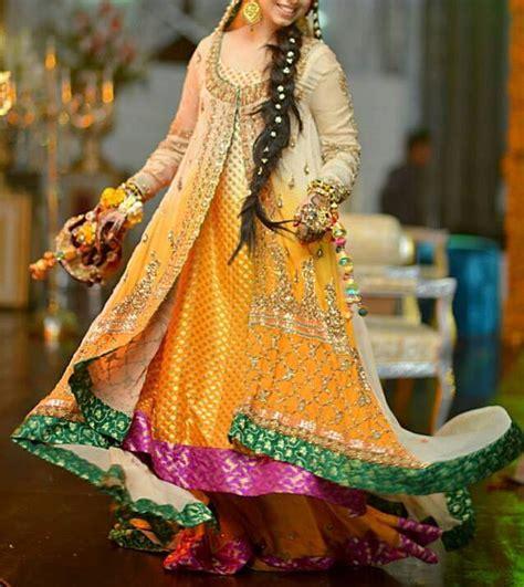 latest bridal mehndi dresses designs   collection stylesgapcom