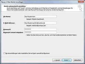 Telekom Faxnummer Einrichten : e mail konto in outlook 2007 einrichten telekom hilfe ~ Eleganceandgraceweddings.com Haus und Dekorationen