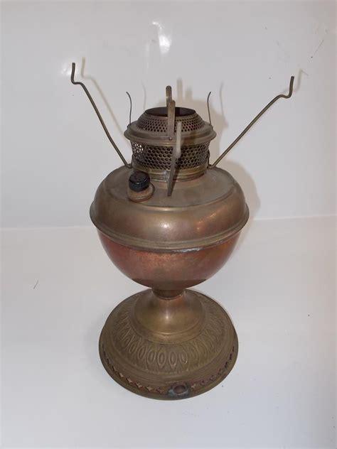 antique oil ls converted to electric vintage antique copper brass oil kerosene l converted