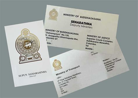 Business Cards For Sri Lanka Government Officials. These Business Letter Useful Key Phrases Holiday Letterhead Vector Letters Meaning Card Design What To Include Ai Different Types