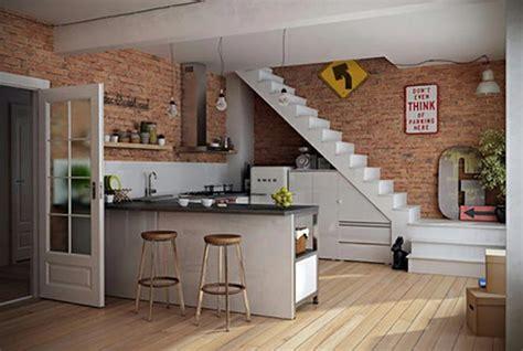 cuisine design sous l escalier à voir design feria