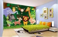 great kids bedroom mural Custom mural photo 3d wallpaper Children room cartoon forest animals decoration painting 3d wall ...