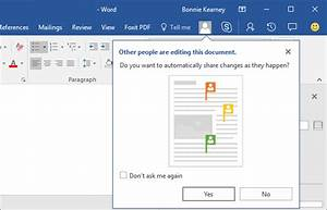 how to collaborate and share documents in word on windows With real time document collaboration free