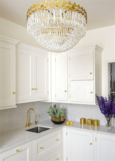 White Kitchen Gold Eye by Interior Design Inspiration Photos By Stephen