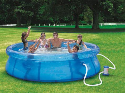 Kleiner Aufblasbarer Pool by Aufblasbarer Pool Selber Machen Heimwerkermagazin