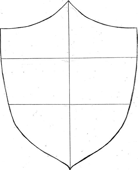Shield Template Coat Of Arms Shield Template Clipart Best