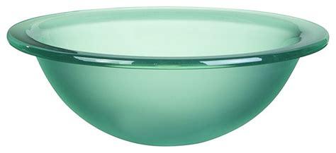 Decolav Tu-fng Translucence Round Undermount Glass