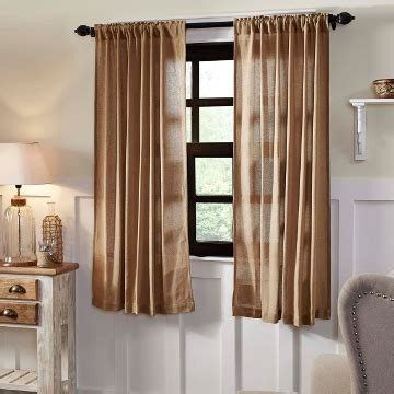 Country Style Drapes - country style curtains retro barn country linens