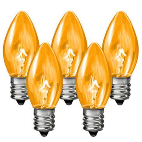 c7 transparent replacement bulb 7 watt