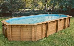 Dimension Piscine Hors Sol : piscine bois pas cher oc a 8 60 x 4 70 x 1 30 m ubbink jardideco ~ Melissatoandfro.com Idées de Décoration