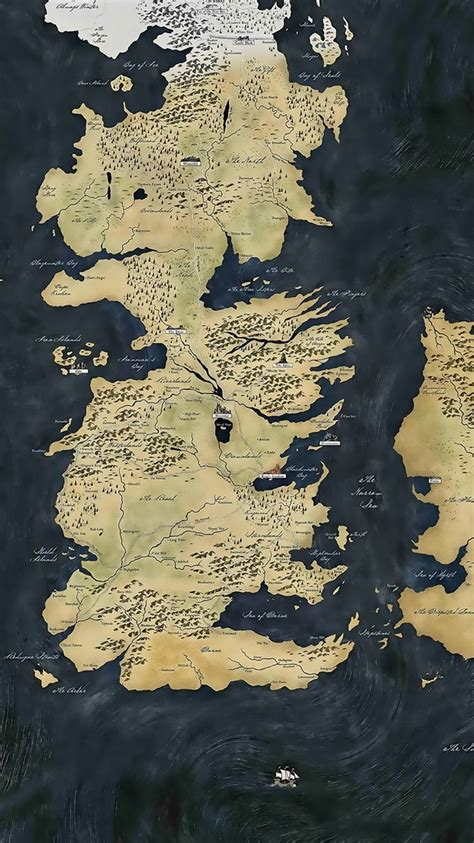 game  thrones map iphone  wallpaper winter  coming