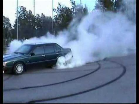 illegal drift  burnout  volvo  turbo bad ass