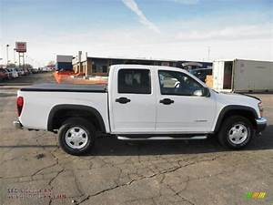 2004 Chevrolet Colorado Ls Crew Cab 4x4 In Summit White