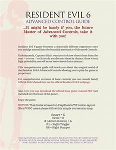Resident Evil 6 Advanced Controls Guide By Amar Resic
