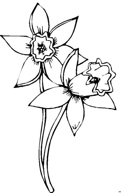 Schoene Blumen 2 Ausmalbild & Malvorlage (Nordisch