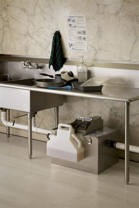 under sink grease trap sizing thermaco blog how to size a grease trap for a commercial