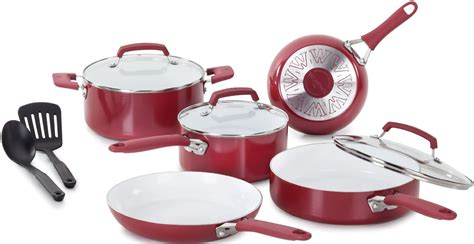 today  wearever pure living nonstick ceramic cookware sets     shipped