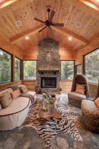 rustic cabin kitchen ideas house on the hill rustic sunroom minneapolis by