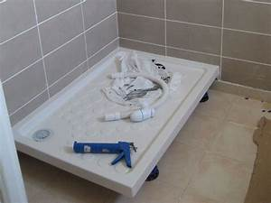 Bac De Douche : travaux int rieurs finitions de la salle de douche 1 re ~ Edinachiropracticcenter.com Idées de Décoration