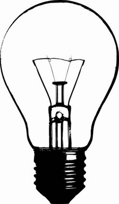 Silhouette Bulb Lightbulb Clip Clipartpanda Clipart Projects