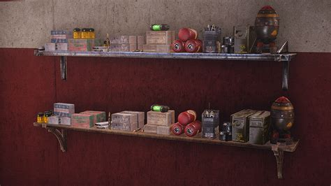 Home Decor Fallout 4 : Buildable Armour Stands