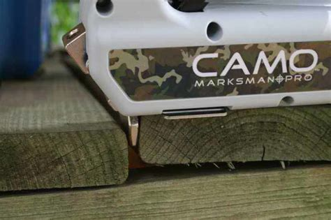 camo hidden fastening tools weekes forest products