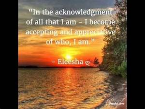 Inner Peace & A... Daily Acceptance Quotes