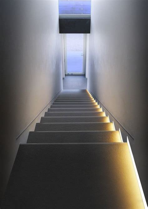 Led Light Design: Dramatic Look LED Stair Lighting LED