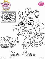 Coloring Palace Halloween Mr Pages Pets Chow Disney Princess Whisker Haven Skgaleana Pet Printable Colouring Printables Frozen Cartoon Sheets Books sketch template