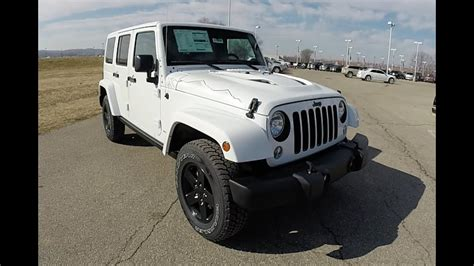 2015 Jeep Wrangler Unlimited Sahara X Package White