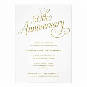 50th wedding anniversary invitations With 50th wedding anniversary invitation