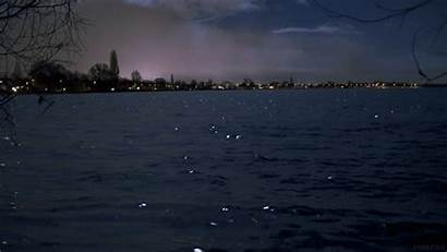 Lake Night Loop Water Perfect Gifs Nature