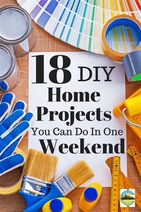 18 Cheap And Easy Diy Home Improvement Projects Living