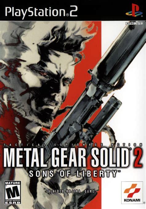 Metal Gear Retrospective Metal Gear Solid 2 Sons Of