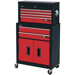 draper 8 drawer metal tool chest roller storage cabinet tool box 80927