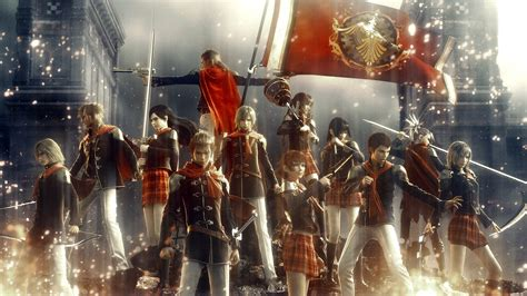 Final Fantasy Type0 Hd Now Available On Pc With Updated